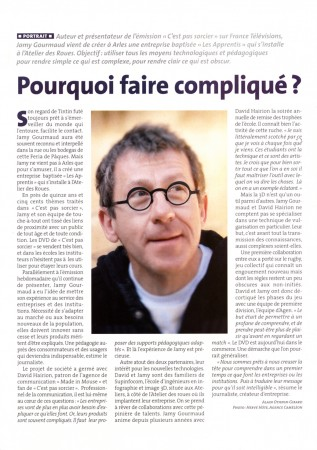 Article Jamy Gourmand sur Arles Info
