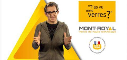 Image de la vidéo les verres de haute technologie de Mont-Royal